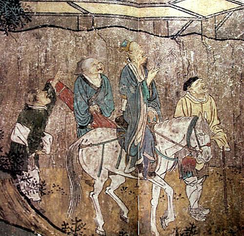 瑞應永樂(局部) 純陽殿東壁