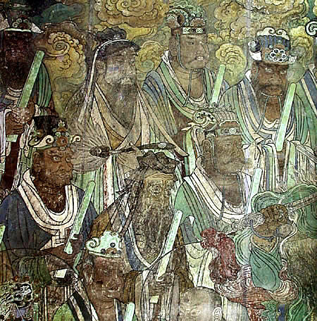 神化金陵鶴會 純陽殿東壁