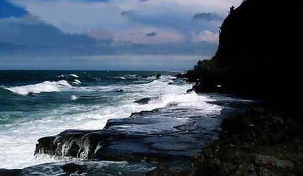 北海围洲島風光