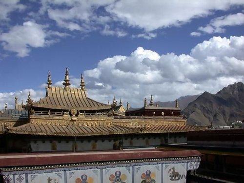 西藏 大昭寺金頂