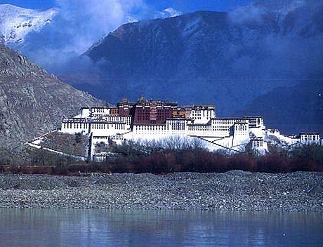 布達拉宮 西藏
