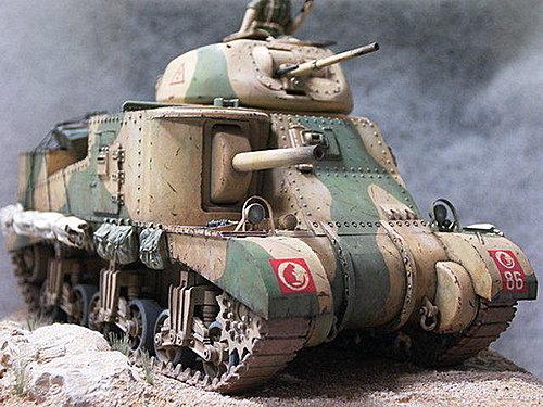 (美) M3 LEE medium tank