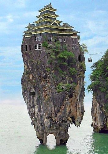 不敢住的城堡