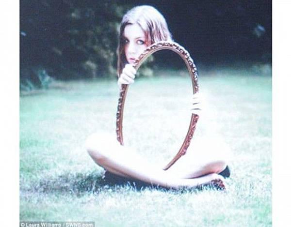 鏡子靈異照
