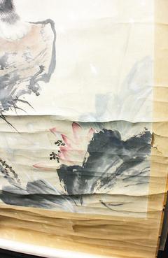 捲軸書畫中凹翹「起瓦」現象