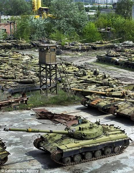 烏克蘭坦克墳場3