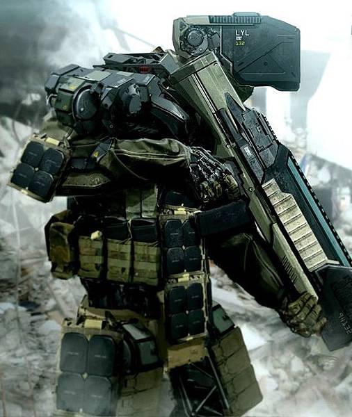 戰士外骨骼單兵裝甲