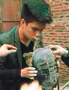 我和你吻鱉1