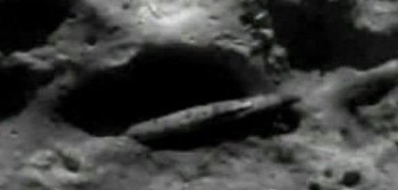 月球巨型太空船
