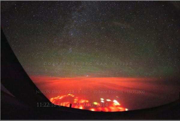 太平洋神秘橘紅光