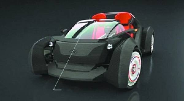 3D列印汽車