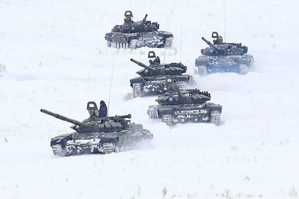 T-72坦克群1