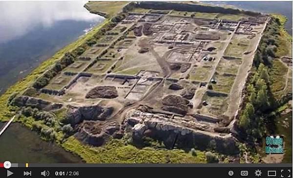 博爾巴任(Por-Bajin)的古城遺址