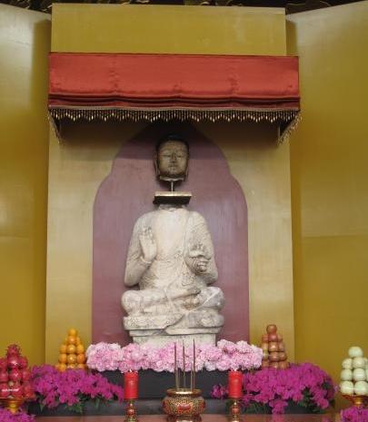 北齊釋迦牟尼佛像
