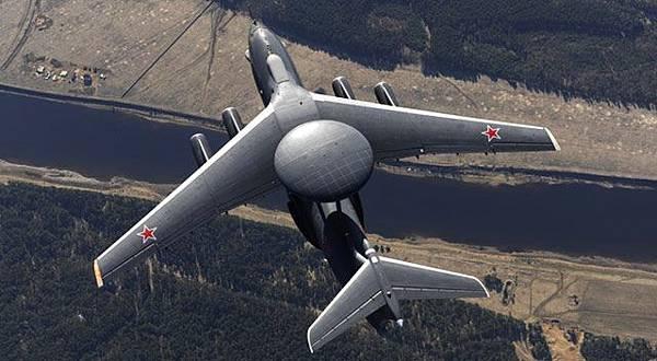俄軍A-50預警機