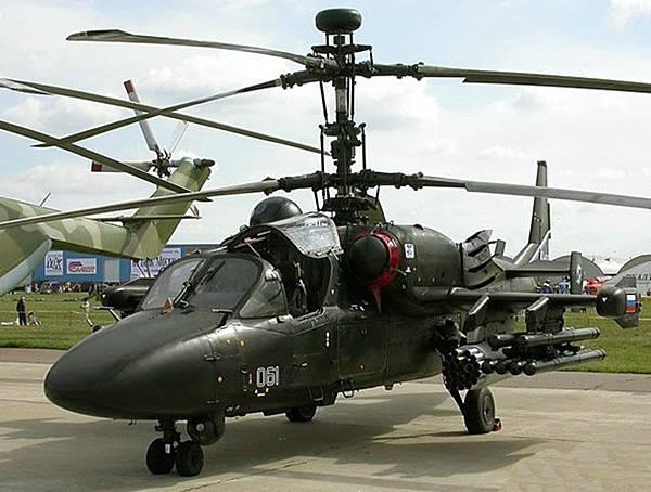 (俄) 卡-52 短吻鳄-武裝直升機