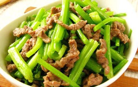 吃青菜吃肉