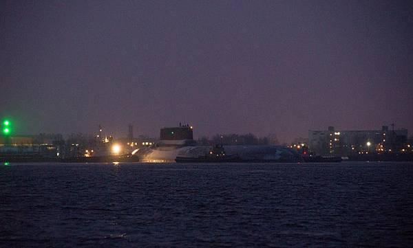 颱風级核潛艦
