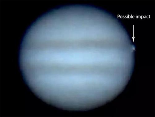 木星遭碰撞
