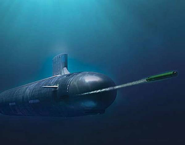 MK-48先進潛射重型魚雷