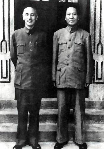 毛泽东和蒋介石