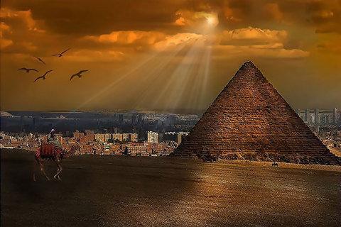 埃及風光 Pyramid of Mcnkaurc
