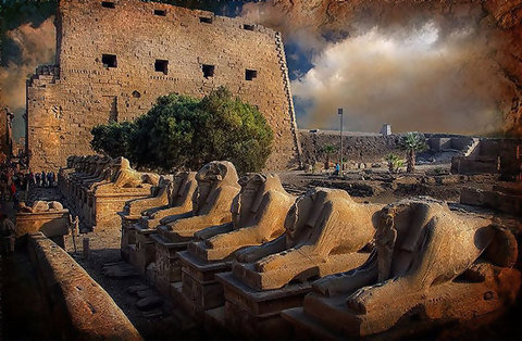 埃及風光  Karnak Temple