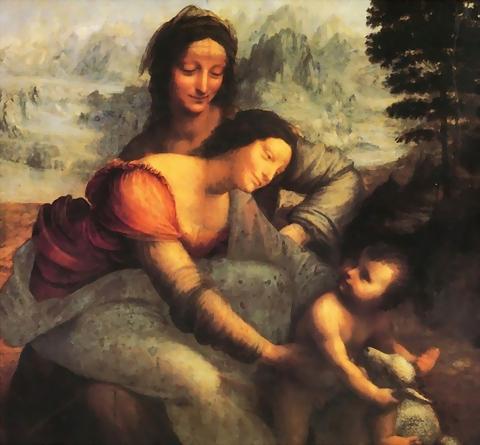 聖母子與聖安妮