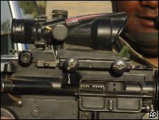 士兵步槍聖經密碼