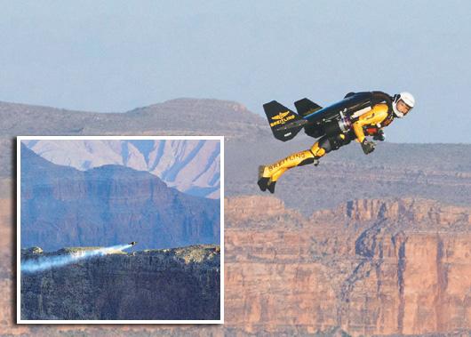 飛越大峽谷