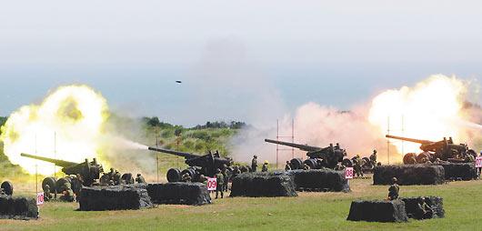 陸軍重砲保養射擊