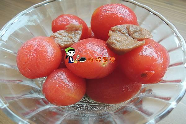 哈士奇居家生活-哈妮素食譜-梅漬蜜番茄70