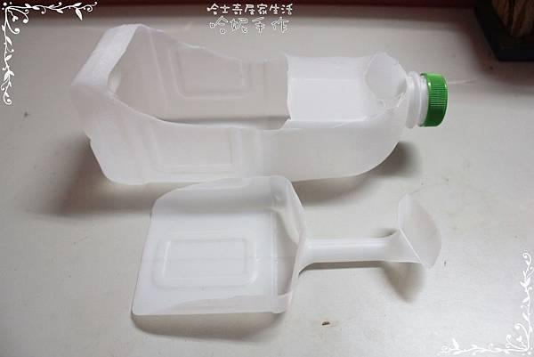 哈士奇居家生活-環保DIY-家庭號塑膠瓶變身小鏟子 04