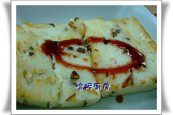 哈士奇居家清潔服務-年菜四--香Q蘿蔔糕-5.煎香.JPG