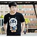 H3 短袖圓領衫 救難隊 洛洛 (黑色)