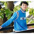 H3 復古運動外套 救難隊 (藍)