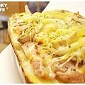 焗烤燻雞乳酪堡-1