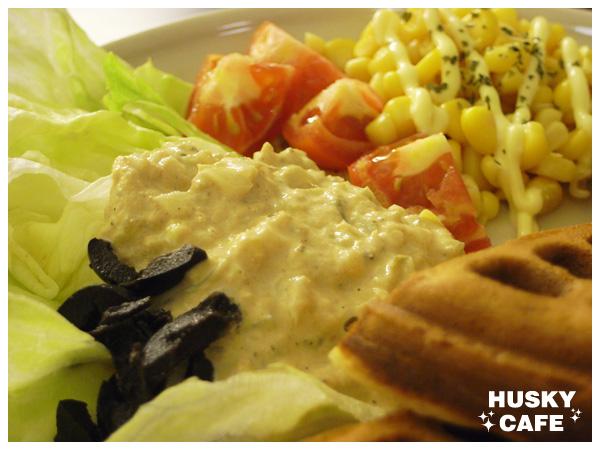 鮪魚蔬菜鬆餅-2