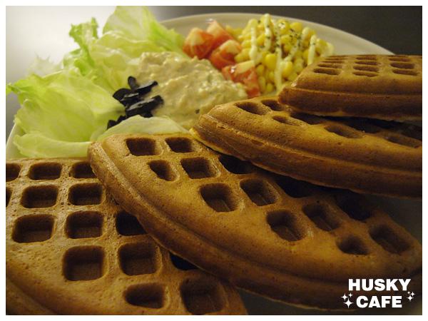 鮪魚蔬菜鬆餅-4