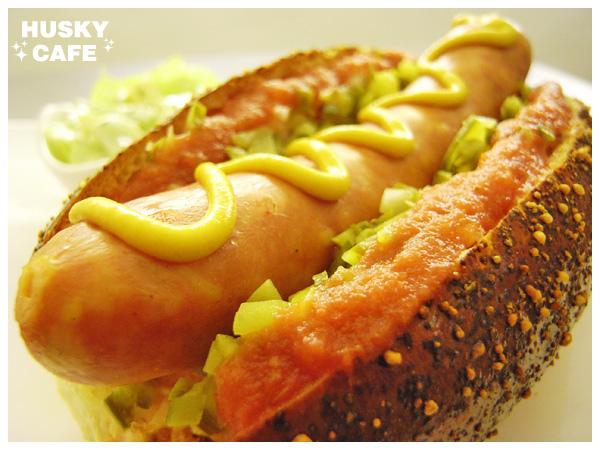 德國香腸起司堡-1