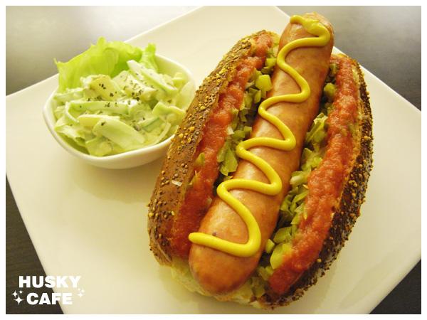 德國香腸起司堡-5