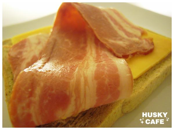 培根乳酪三明治-2