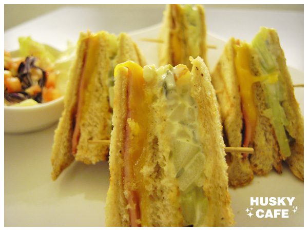 培根乳酪三明治-3