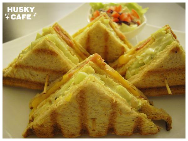 培根乳酪三明治-4