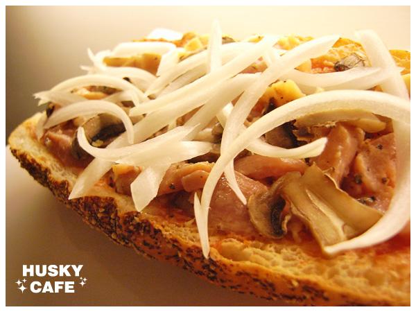 焗烤燻雞乳酪堡-2