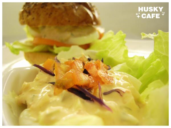 鮪魚沙拉起司堡-6