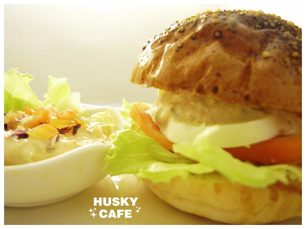 鮪魚沙拉起司堡-4