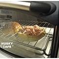 燻雞肉沙拉起司堡-2