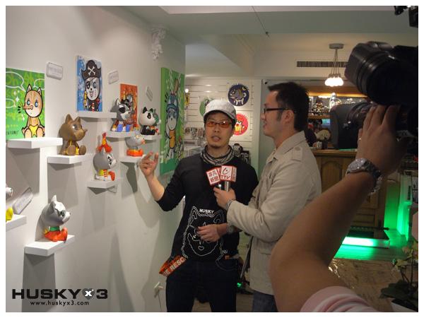 台北青目愛塗鴉個展-媒體專訪-1