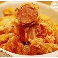 德國起司香腸蕃茄焗飯-4